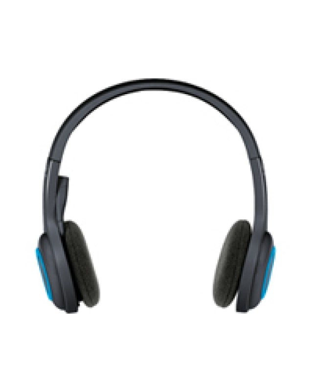 Logitech Wireless Headset H600 On-Ear drahtlos - 2,4 GHz Stereo Schwarz