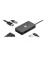Microsoft USB-C Travel Hub Black Typ C