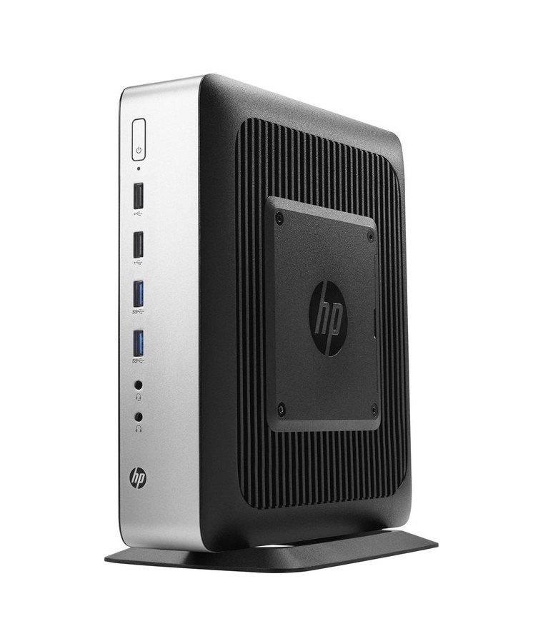 HP t730 Thin Client Tower 1 x R-Serie RX427BB / 2.7 GHz RAM 8 GB Flash 32 Radeon HD 9000 GigE WLAN: Bluetooth 802.11a/b/g/n/ac Windows 10 IOT Enterprise für Clients 64-Bit Monitor: keiner Tastatur: Deutsch