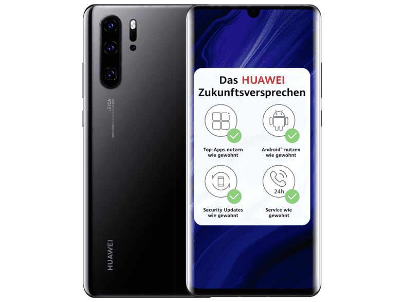 Huawei P30 PRO New Edition Smartphone 8 MP 256 GB Schwarz (51095RWV)