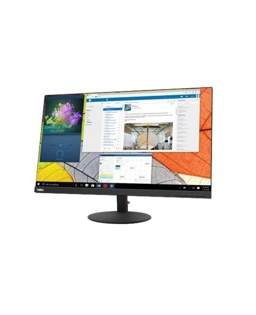 "Lenovo ThinkVision S27q-10 LED-Monitor 68.6 cm 27"" sichtbar 2560 x 1440 WQHD IPS 350 cd/m² 1000:1 4 ms HDMI DisplayPort Raven Black"