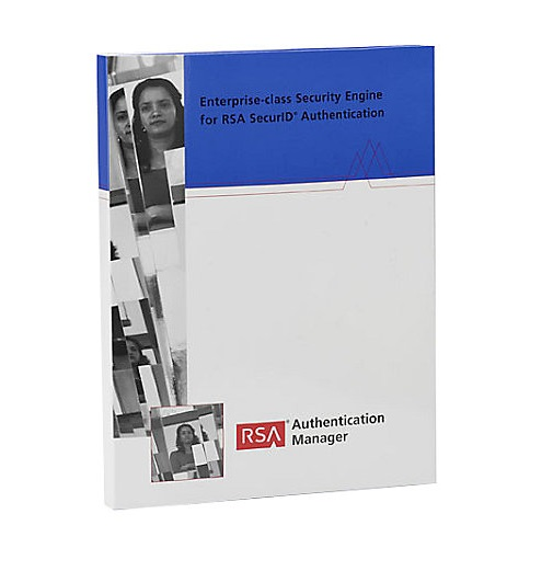 RSA Authentication Manager Base, Lizenzstaffel, Download, Win, Englisch (105-150 User)