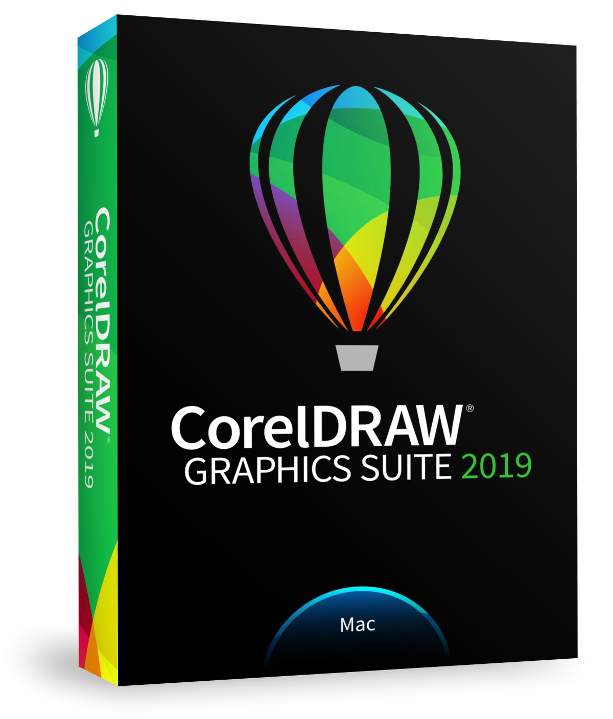 CorelDRAW Graphics Suite 2019 Mac, Multilingual