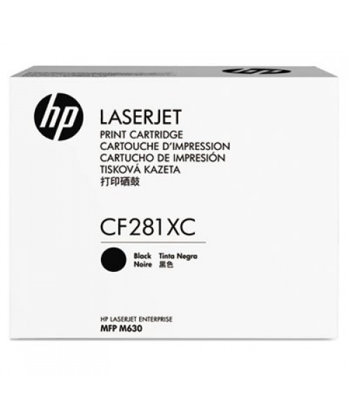 HP 81X Schwarz Original LaserJet Tonerpatrone Contract für Enterprise MFP M630 Flow (CF281XC)