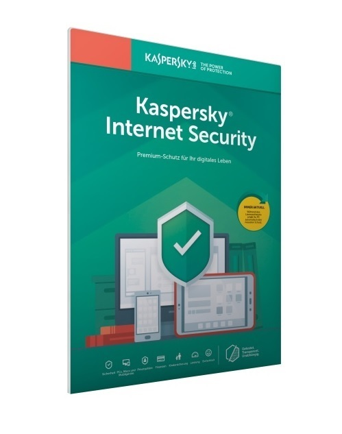 Kaspersky Internet Security 2019 3 Geräte 1 Jahr Download Win/Mac/Android/iOS, Deutsch (KL1939GCCFS)