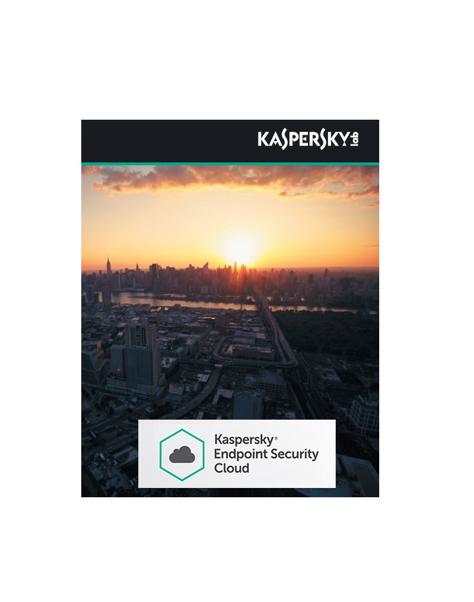 Kaspersky Endpoint Security Cloud Plus 1 Jahr Download Lizenzstaffel Win/Android/iOS, Multilingual (25-49 Lizenzen) (KL4743XAPFS)