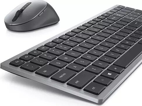 Dell Wireless Keyboard and Mouse KM7120W Tastatur-und-Maus-Set Bluetooth 2.4 GHz Deutschland