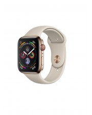 Apple Watch Series 4 GPS+ Cellular 44mm Gold Stainless Steel Case with Stone Sport