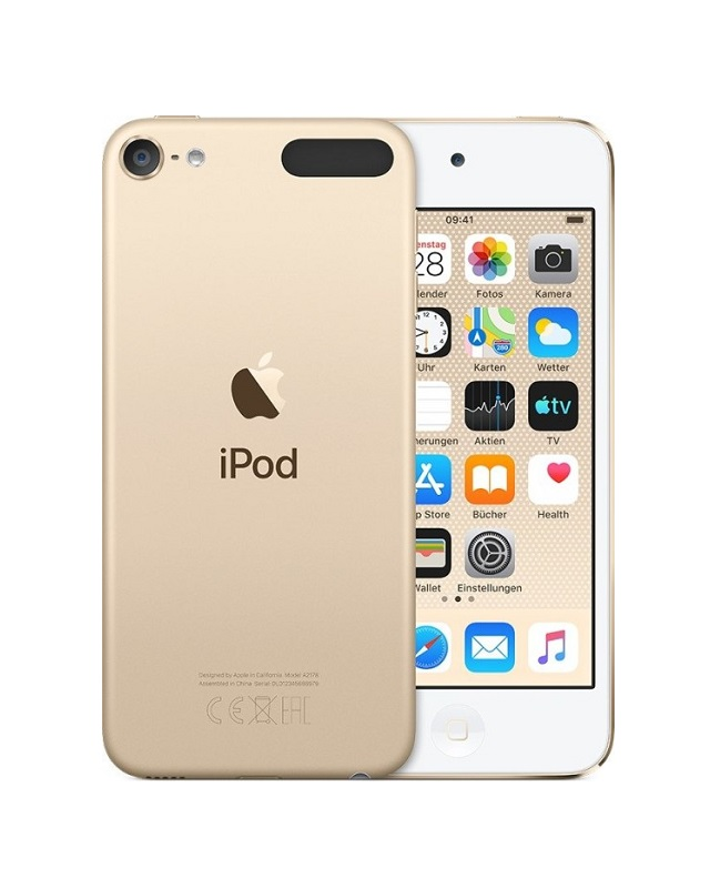 Apple iPod touch 7. Generation Digital Player iOS 12 256 GB Gold
