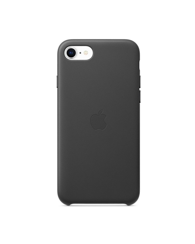 Apple iPhone SE Leather Case Black Schwarz