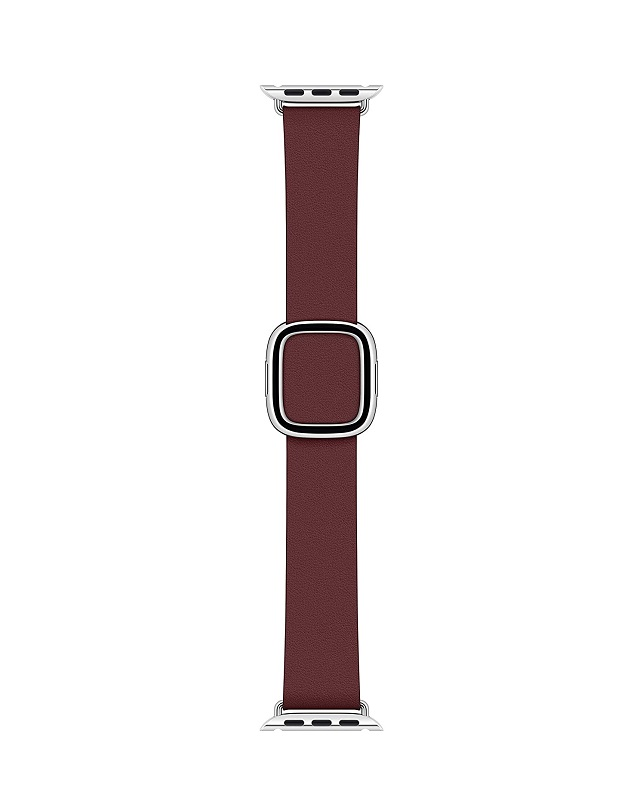 Apple 40mm Garnet Modern Buckle Small Armband