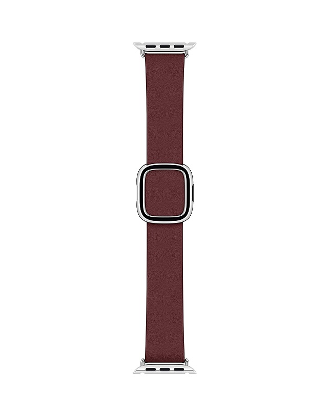 Apple 40mm Garnet Modern Buckle Medium Armband