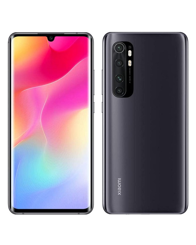 Xiaomi Mi Note 10 Lite EU 6GB RAM 128GB Speicher Midnight Black 128 GB