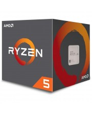 AMD Ryzen 5 CPU 2600 3.4 GHz Pinnacle Ridge Sockel AM4 boxed 3,9 19 MB Box-Set (YD2600BBAFBOX)