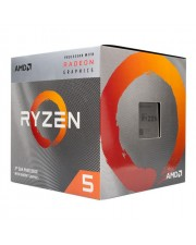 AMD Ryzen 5 CPU Prozessor 3400G 4,2 GHz AM4 Quad-Core 8 Threads Box-Set