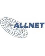 "ALLNET Switch smart managed 24 Port Gigabit 500W 24x PoE+ 4x SFP 19"" Access Point Kupferdraht Glasfaser LWL 1 Gbps 24-Port SNMP TCP/IP Duplex Ethernet Power over Managed Rack-Modul 3 HE"