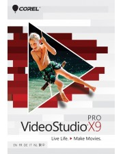 Corel VideoStudio Pro X9 inkl. Greenscreen Win, Multilingual