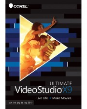 Corel VideoStudio Ultimate X9 inkl. Greenscreen Win, Multilingual