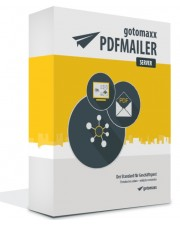 Gotomaxx PDFMAILER 6 Server SB Lizenz Download 1x Standort / 1x Server 5 User Win, Deutsch