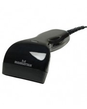 Manhattan Contact CCD Barcode Scanner Handgerät 50 Scans/Sek. decodiert USB (401517)