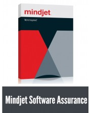 1 Jahr MSA (Mindjet Software Assurance) für Mindjet MindManager Enterprise Lizenzstaffel Download Win/Mac, Multilingual (5-9 User) (600870)