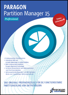 Paragon Partition Manager 15 Pro, Download, Win, Deutsch