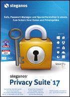 Steganos Privacy Suite 17 ESD, Deutsch