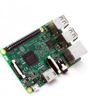 Raspberry Pi 3 model B LxBxH: 89 x 71 x 26 mm schwarz grau (RASPBERRY-PI-3)