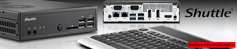 Shuttle Barebone Mini-PC Komplettsysteme