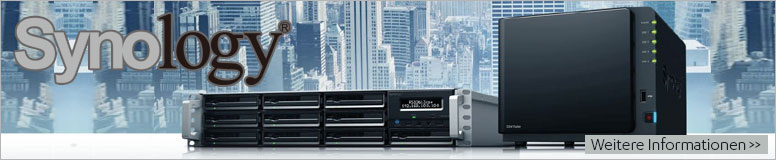 Synology NAS / Storage Server Systeme Hardware Produkte - alle Modelle